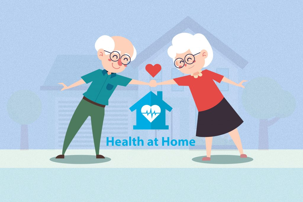"""""""Health at home"""" บริการดูแลผู้สูงอายุ – แบบส่งตรงถึงบ้าน"""
