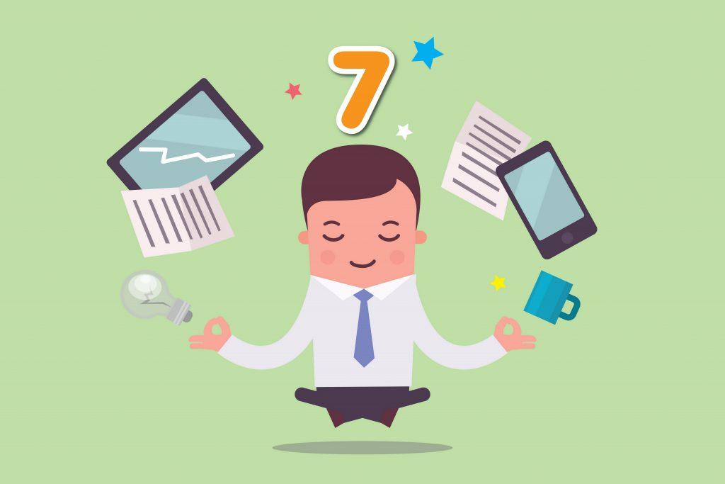 7 เทคนิค สร้างสมาธิจดจ่องาน หลีกเลี่ยงภาวะว้าวุ่นใจ