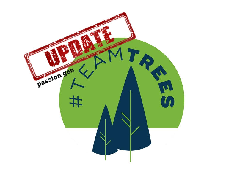 อัพเดท! โครงการ #teamtrees ระดมทุนครบ 20 ล้านดอลลาร์ตามเป้าแล้ว