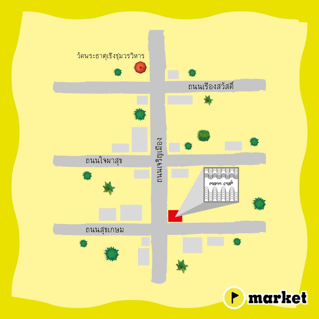 แผนที่ร้าน Mann Craft (Map)