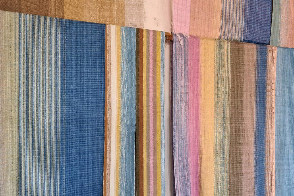ผ้าย้อมสีจากธรรมชาติ mann craft  - passion market