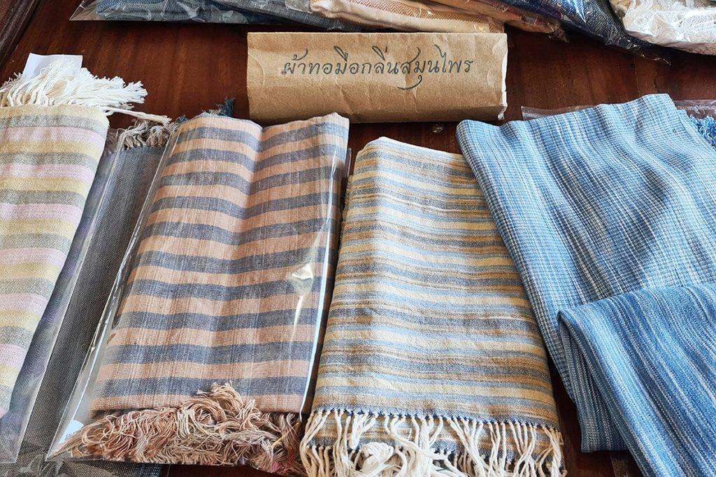 ผ้าทอมือกลิ่นสมุนไพร craft  - passion market