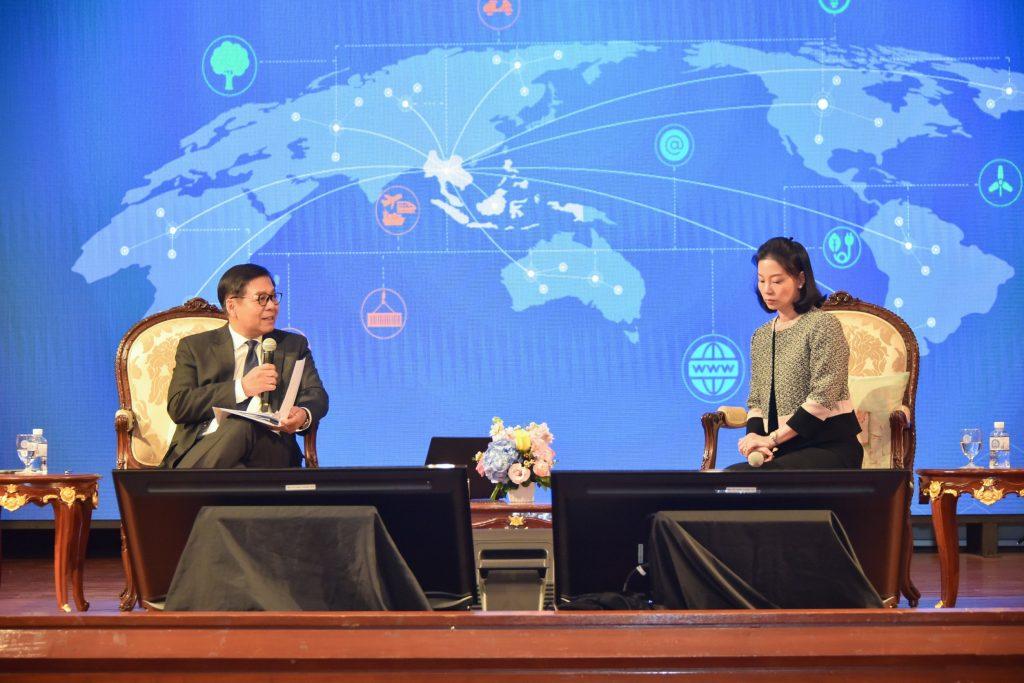 """สกพอ. ร่วมเสวนาออนไลน์ """"Connecting the Connectivities: Synergy through Enhanced Partnership"""""""